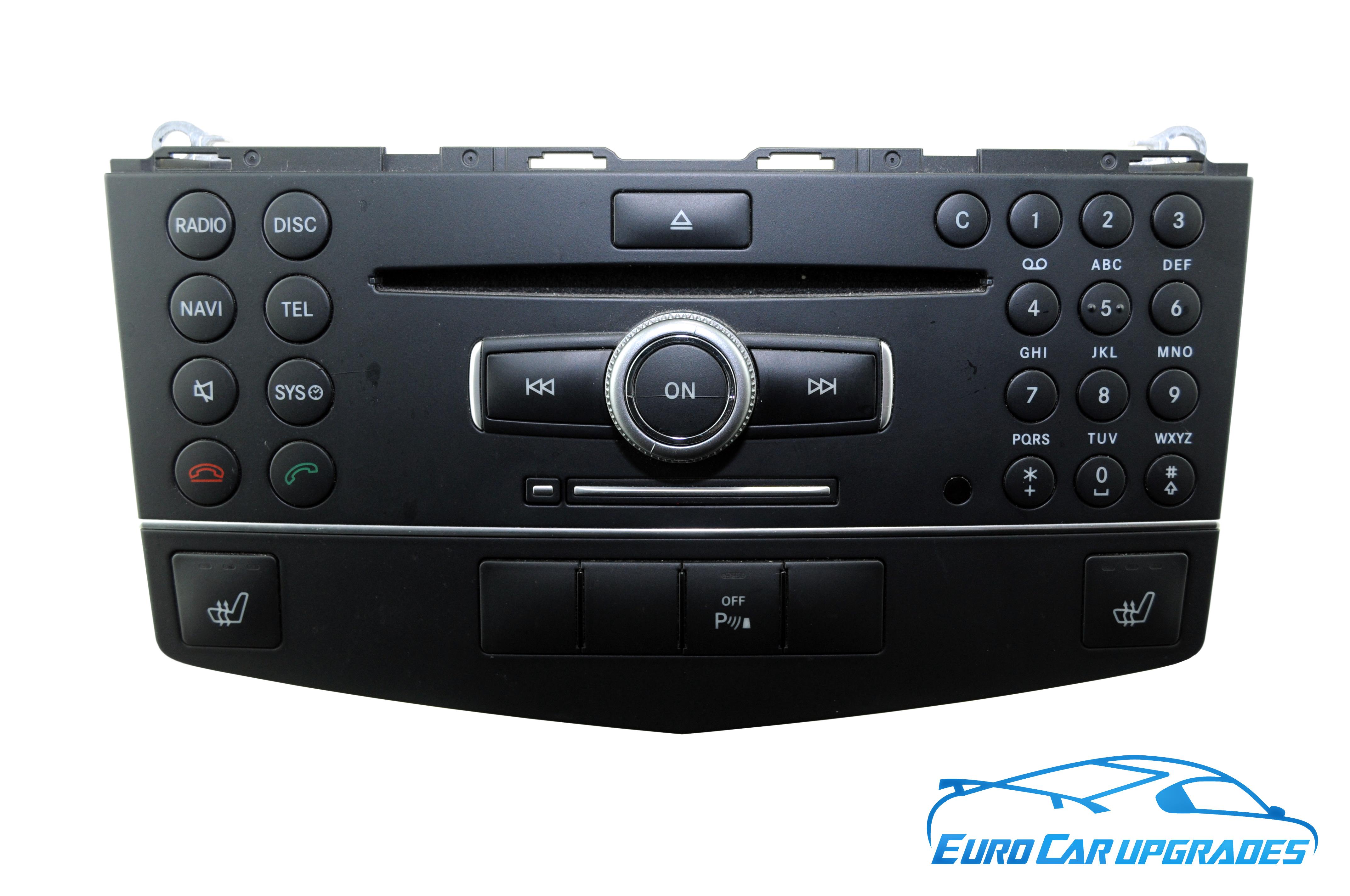 genuine Mercedes-Benz Navigation System COMAND APS w204 s204 ntg4 C-Class NTG  4 A2049006403, Mercedes Navigation System COMAND APS W204 NTG4 C Class NTG 4  ...
