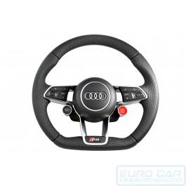 Audi R8 2017 Multifunction Steering Wheel flat bottom with Airbag OEM Genuine - Euro Car Upgrades - eurocarupgrades.com.au