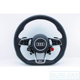 Audi R8 Plus 2017 Multifunction Steering Wheel Flat Bottom with Airbag OEM Genuine - Euro Car Upgrades - eurocarupgrades.com.au