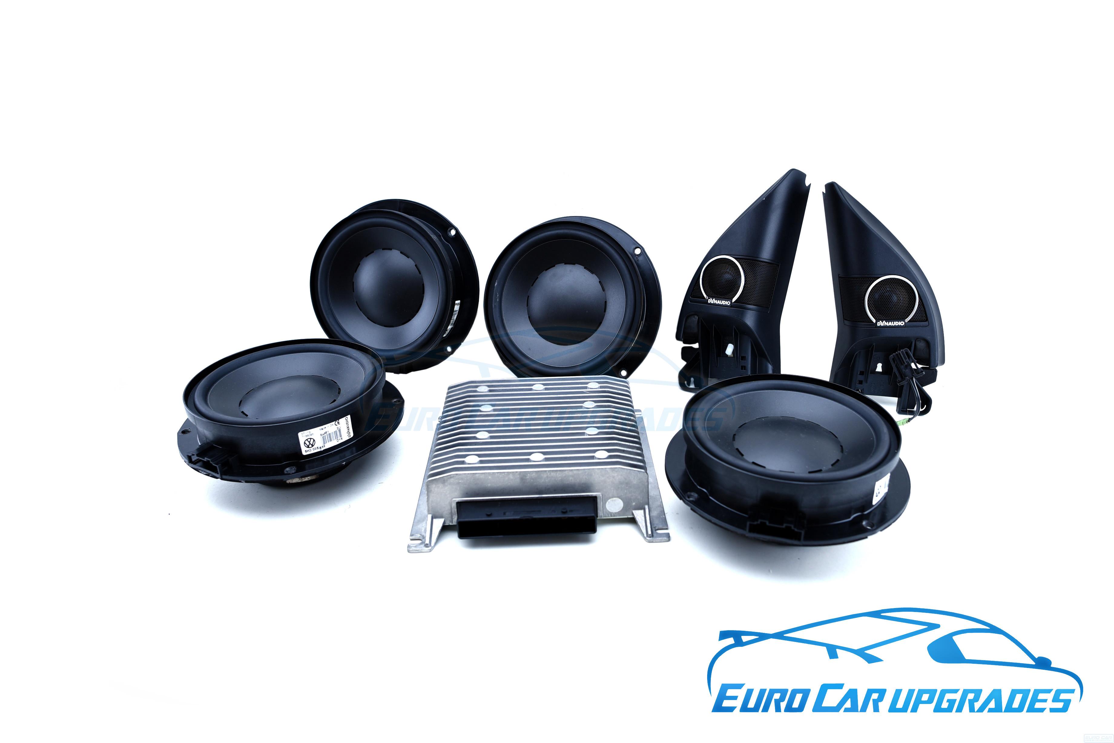 Volkswagen Golf 8 Dynaudio Excite Sound System 6 Speakers