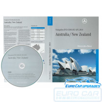2010 Mercedes Map DVD A B C CLC CLK GL M R NTG 2 Australia NZ maps COMAND Final Edition Euro Car Upgrades eurocarupgrades.com.au