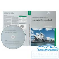 2010 Mercedes Map DVD CL CLS E S SL SLK NTG 1 Australia NZ maps COMAND Final Edition Euro Car Upgrades eurocarupgrades.com.au