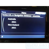 2021 Audi A3 S3 RS3 8V Audi Map GPS Navigation Service Update Maps for Australia & New Zealand - Euro Car Electronics - eurocarupgrades.com.au