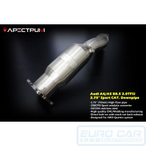 Audi A4 A5 B8.5 1.8 2.0 TFSI Stainless Steel Cat Performance Downpipe - Euro Car Upgrades - eurocarupgrades.com.au