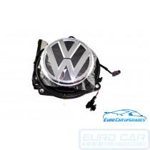 Volkswagen Reversing Camera Badge Golf Passat CC Beetle VW OEM Genuine Flip Up Rear Euro Car Upgrades eurocarupgrades.com.au