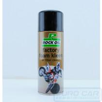 Rock Oil Foam Air filter cleaner 400ml - Euro Car Upgrades - eurocarupgrades.com.au