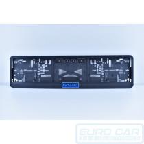 Number Plate Holder Frame Euro Classic Rego Registration no Drilling Click in Euro Car Electronics - eurocarupgrades.com.au