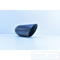 Black Ceramic Universal Exhaust tip MG Motorsport - Euro Car Upgrades - www.eurocarupgrades.com.au
