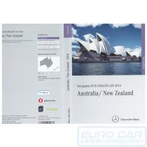 2014 Mercedes E CLS Map DVD COMMAND APS NTG 4-212 NTG4-212 Australia New Zealand maps OEM A2128279859