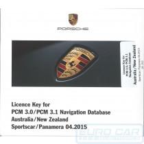 2016 PCM 3.1 Map Update Boxster Cayman 911 Carrera GT2 GT3 Cayenne Australia Maps OEM 99764227956 Service Euro Car Upgrades eurocarupgrades.com.au