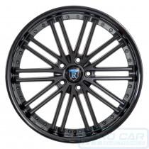 RC20 Alloy Wheel Matte Black w/ Gloss Black Lip - Rohana Wheels Australia - Euro Car Upgrades - www.jku.com.au