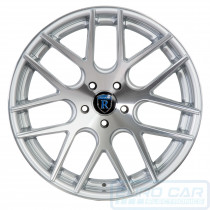 RC26 Alloy Wheel Machine Silver - Rohana Wheels Australia - Euro Car Upgrades - www.jku.com.au