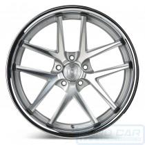 RC9 Alloy Wheel Machine Silver w/ chrome lip - Rohana Wheels Australia - Euro Car Upgrades - www.jku.com.au