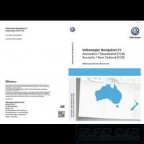 2021 VW GPS Navigation Map SERVCICE V10 Australia NZ RNS 510 Maps OEM 7L6051859BD Genuine Euro Car Electronics www.eurocarupgrades.com.au
