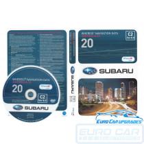 2014 Map DVD genuine Subaru OEM maps Australia V20 C2 ver 8 Euro Car Upgrades eurocarupgrades.com.au