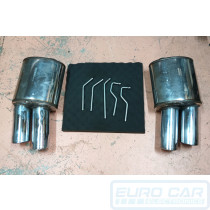 Left And Right - Audi A4 S4 B8 S5 V8 Right Left Combo Mufflers 767136 767106 Supersprint Euro Car Upgrades eurocarupgrades.com.au