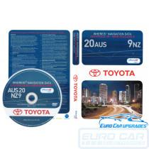 2014 Toyota Lexus Map DVD Australia V20 NZ V9 Maps OEM PZQ8600261 Euro Car Upgrades eurocarupgrades.com.au