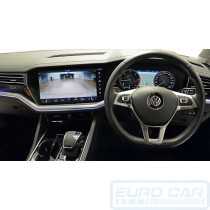VW Touareg CR Caravan Reverse Camera Integration